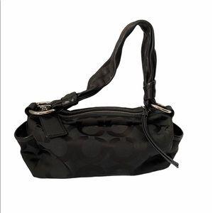 COACH PARKER BLACK SHOULDER BAG M0869-13439